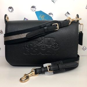 Coach💎JES Messenger Shoulder crossbody Bag Black